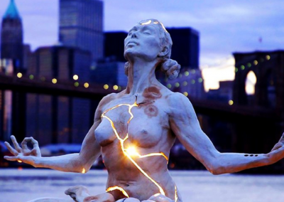 PlayfulLoving Tantra Empowerment Coaching Workshops and Programs Women with lightening bolt