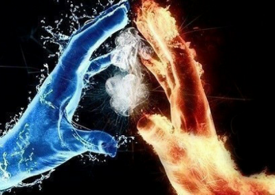 PlayfulLoving Tantra Empowerment Coaching Workshops and Programs fire and ice hands together